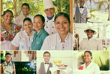 Bahia Staff / Smiling is natural, healthy and also contagious. For these reasons and many more, the smile is a basic part of the philosophy of service at Bahia Principe.