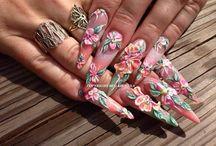 Nails Nagels / Nail Art  3D Nails Nagels