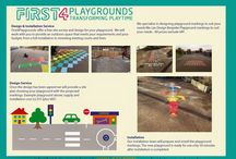 first4playgrounds Brochure / playground markings brochure with prices from first4playgrounds