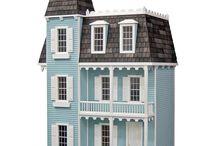 Dollhouse finishing and decorating