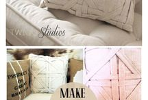 Home  ::  Throw pillows / by Stephanie Pienaar