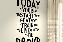 Quote bedroom walls
