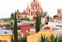 Visit San Miguel de Allende / A charming colonial town located in the heart of Mexico just 3 hours from Mexico City.  Discover why our hometown was named Top Destination in the World by Condé Nast Traveler!