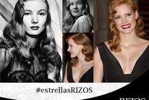 #EstrellasRIZOS / Las grandes divas del cine y la música inspiran a las celebrities de hoy.