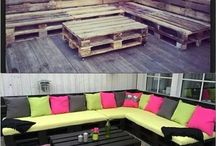 Garden furniture / Ideas for the garden