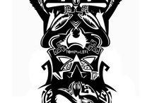 Восток tattoo