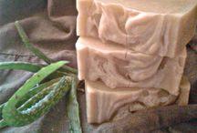 Házi készítésű szappanjaim