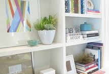 Shelving for the living room-style