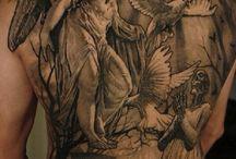 Engelen tatoeage