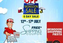 Monsoon sale and Monsoon Tips & Tricks