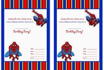 spiderman birthday / by danchoos