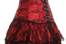 コルセットドレス
