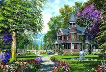 Heavenly Garden / Inspiration for my Dream Garden