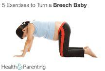 Breech Baby Exercise