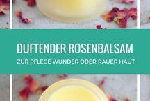 Kosmetik / Rosencreme selber herstellen!
