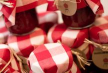 party: BBQ / Party decor, favors, ideas for outdoor BBQ or picnic. DIY BBQ