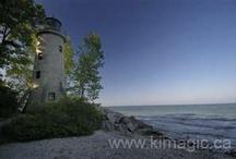 Lighthouse on Pelee Island