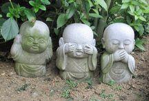 JAPON / RELIGION.....TRADICION....COSTUMBRES      EN PIEDRA