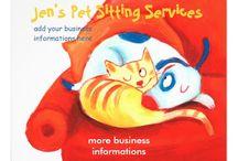 pet business flyers