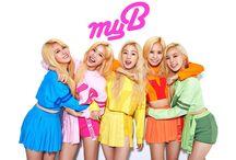 [MYB] 마이비 = 희주 + 유정 + 문희 + 지원 + 두셩 + 하윤 (MYB <25.08.2015><14.12.2016>) / MEMBERS : HEEJOO ~ JEON HEE-JOO U-JUNG ~ LEE YOO-JUNG MOONHEE ~ CHOI MOON-HEE G-WON ~ KANG JI-WON JOOKYUNG ~ LEE JOO-KYUNG HAYOON ~ JUNG HA-YOON  MY BIAS : MOONHEE  FANDOM NAME : --  LABEL : MAROO ENTERTAINMENT  2015-2016