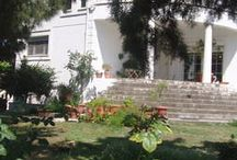it is a beautiful house with garden