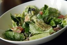 Cook: Salads, dips and dressings / green salad, pasta salad, potato salad, fruit salad, dressings and dips / by Danila MacDonald