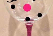 Sharpie cup&glassware