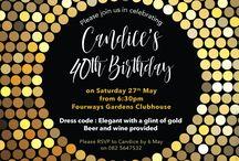 Celebration invites