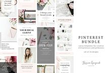 Canva Graphics / Because I don't have access to Photoshop or Illustrator these Canva graphics are perfect for me and so easy to use. This is my round-up of the best I find.