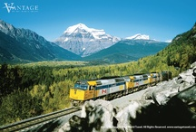 Trans-Canada Rail Odyssey & the Rockies  / You won't find a more delightful way to discover the beauty of our neighbor to the North than on this railway extravaganza that lets you walk across a glacier, tour Banff and Jasper National Parks, and embark on two magnificent train rides that hark back to the golden age of rail travel. / by Vantage Travel