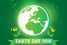 World Earth Day 2016 / Earth Day is an annual event, celebrated on April 22, on which day events worldwide are held to demonstrate support for environmental protection. It was first celebrated in 1970, and is now coordinated globally by the Earth Day Network, and celebrated in more than 193 countries each year.