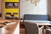 Café interiör