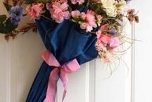 Зонт с цветами