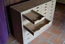 kartónový nábytok