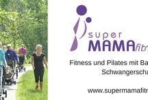 superMAMAfitness - Fitness & Pilates für Schwangere und mit Baby / superMAMAfitness ist ein ganzheitliches Gesundheitstraining für aktive Schwangere und Mütter mitsamt ihren Babys.  Wenig Zeit - aber viel Stress! Bei superMAMAfitness hast du QUALITY TIME - entweder Online oder im echten Leben!