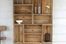 pallet love / Love these ideas, would like to make them for my home, would be different from argos flat pack and probably last longer too............