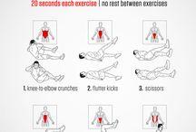 stomach fat workout