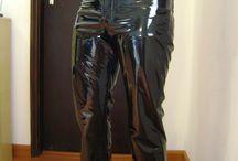 latex pvc.oblečenie