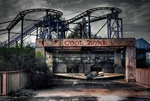 Not Fun Anymore / Abandoned and derelict fun parks. / by Rick Waterworth