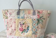Quilt Handbag / hangbag sample