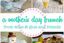 Mother's Day Brunch/Dinner Ideas! / Never know what to get your mom on mother's day? If you are going to be with your mom this mother's day, make her an awesome meal she won't forget! Try some of these options!