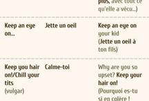 Anglais expressions
