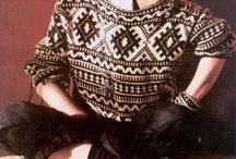 The 80's Fashion Come Back! / 80's Vintage Style Clothing.