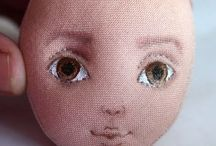 pintura de olho d boneca