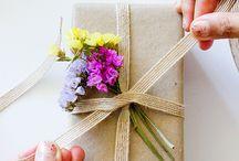 csomagolás & virág