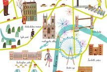 cities art map