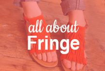 All About Fringe / Fun in fringe! / by ShoeBuy