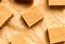 Erdnussbutter Fudge