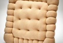 cute food Pillows