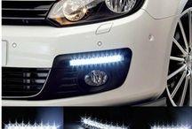 8 LED-es Nappali autófény -